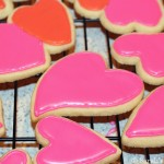 Valentine's Decorated Cutout Cookies