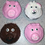 Cowgirl Animal Cupcakes