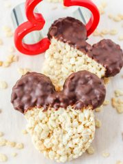 Mickey Mouse Rice Krispies Treats