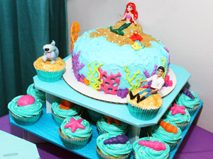 Little Mermaid Cakes Amp Cupcakes Sarah S Bake Studio