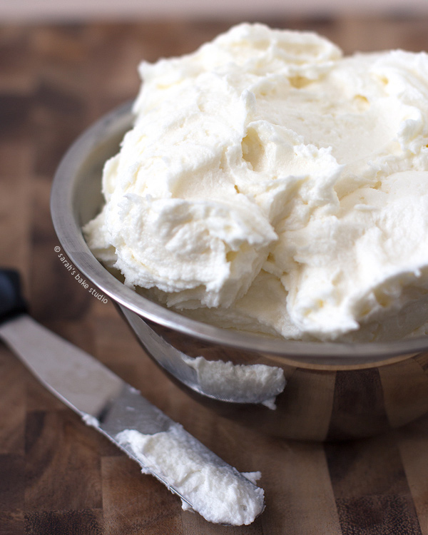 2015 Year in Review: Most Popular Recipes - Vanilla Buttercream