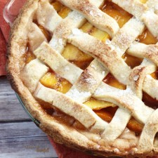Perfect Peach Pie from Pint Sized Baker