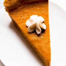 Ultimate Healthy Pumpkin Pie from Amy's Healthy Baking