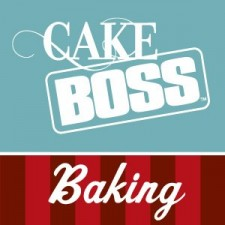 Heart Funfetti Cookie Cake Bars - Cake Boss Baking #LoveIsInTheBaking Campaign Sponsored Post and Giveaway