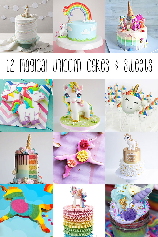 12 Magical Unicorn Cakes and Sweets – enchanting, stunning, and fun unicorn cakes and sweets from phenomenal bakers from around the unicorn-verse to inspire you when adulting gets too hard.