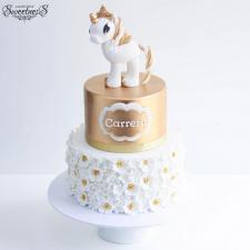 Daisy Unicorn Cake from A Pocket Full of Sweetness