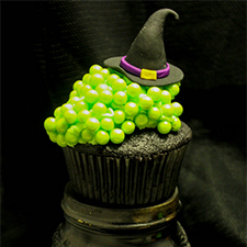Witch's Cauldron Cupcakes from Java Cupcake