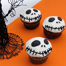 Jack Skellington Cupcakes from Disney Family