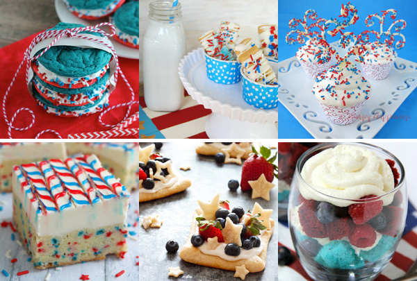 The Great Big List of Patriotic Desserts –sprinkles will fly with these 75+ AMAZING patriotic desserts from your favorite bloggers; a recipe roundup that will snap, crackle, and POP!