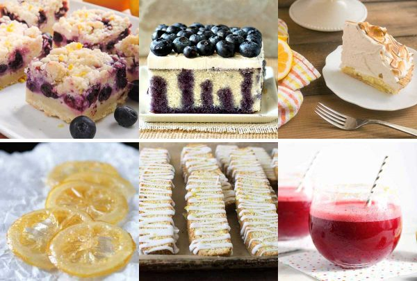 The Great Big List of Lemon Desserts - a great big list of 240 scrumptious lemon desserts from around the web that will tickle your fancy, curl your toes, and make you LOVE-LOVE lemon desserts.