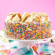 funfetti sugar cookie dough cake