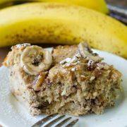 banana bread pudding