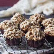 banana honey yogurt streusel muffins