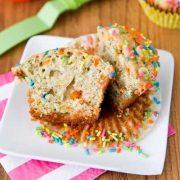 vanilla banana muffins
