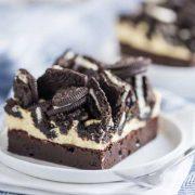 oreo cheesecaek brownie bars