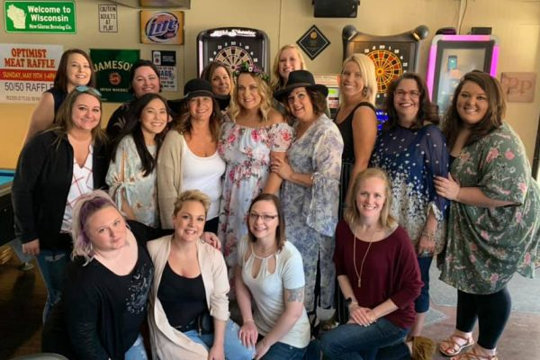 All the Ladies on our Girl's Day!