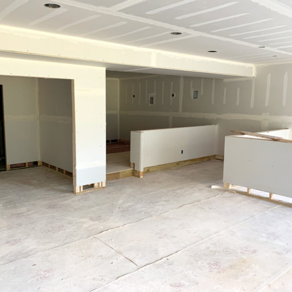 Life Is Sweet August 2019 - Our Lower Level Has Drywall