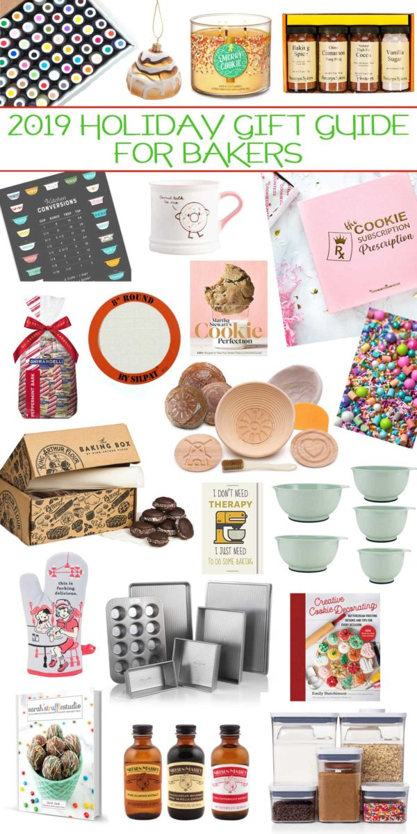 2019 Holiday Gift Guide For Bakers - a sweet holiday gift guide stocked with swoon-worthy gifts for bakers.