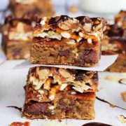 bacon beer potato chip cookie bars