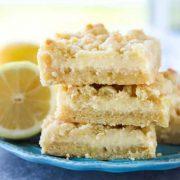 lemon crumb bars