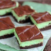 mint brownies