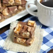 chocolate chip snickers bars