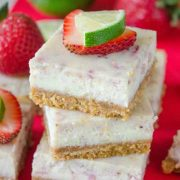 strawberry margarita squares