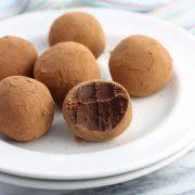 chocolate irish cream truffles
