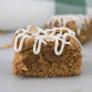 irish dessert blonde brownies